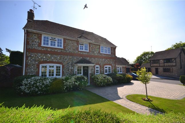 Thumbnail Detached house for sale in Kemp Court, Bagshot, Surrey