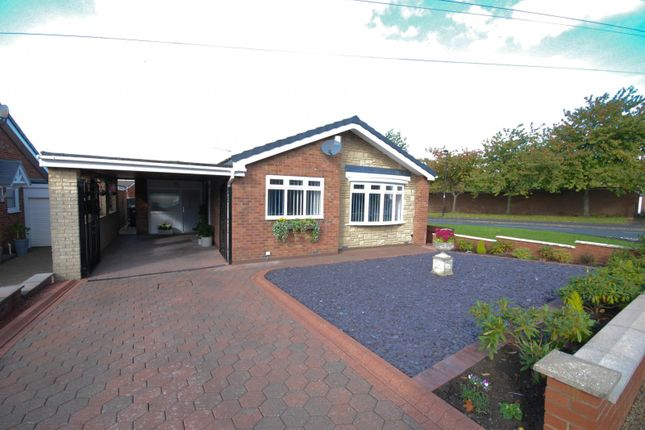 Thumbnail 2 bed bungalow for sale in Lupin Close, Chapel Park, Newcastle Upon Tyne