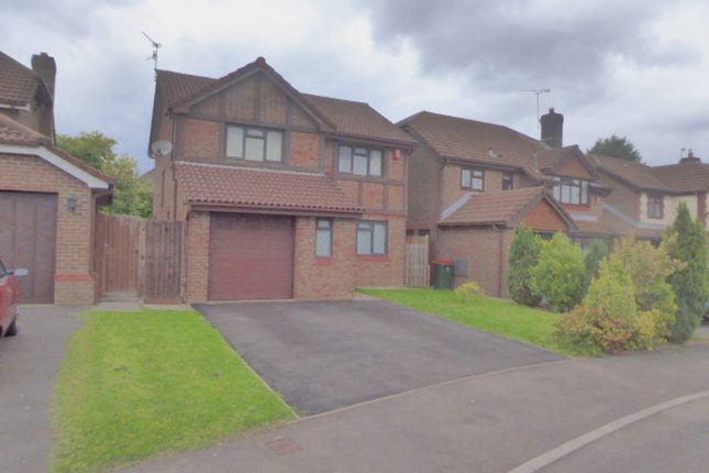 Thumbnail Detached house to rent in Beacons Close, Rogerstone, Newport