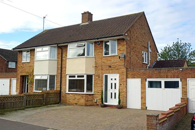 Thumbnail Semi-detached house for sale in Times Close, Hitchin