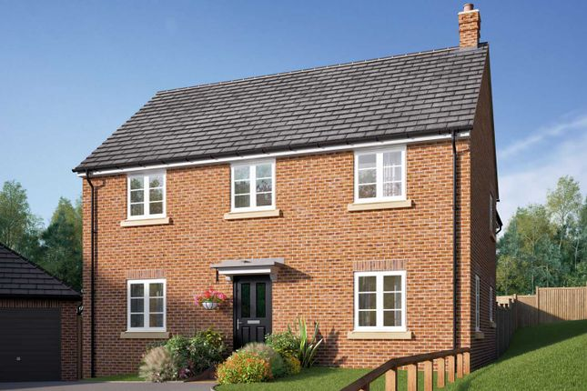 "Thumbnail Detached house for sale in ""The Byrne"" at Barford Road, Blunham, Bedford"