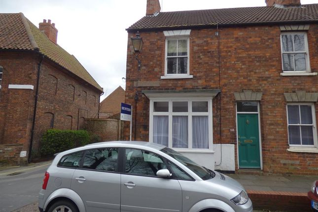 Thumbnail End terrace house to rent in Dog & Duck Lane, Beverley