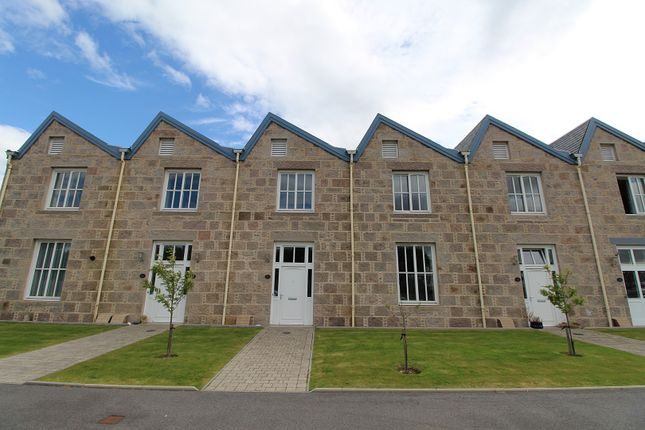 Thumbnail Terraced house for sale in Crossover Road, Inverurie