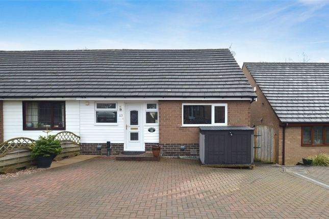 Thumbnail Semi-detached house for sale in Hawthorn Close, Chinley, High Peak, Derbyshire