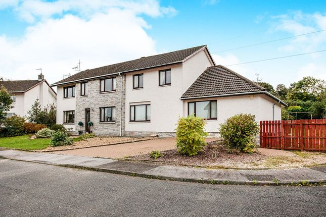 Thumbnail Detached house for sale in Makbrar Crescent, Dumfries