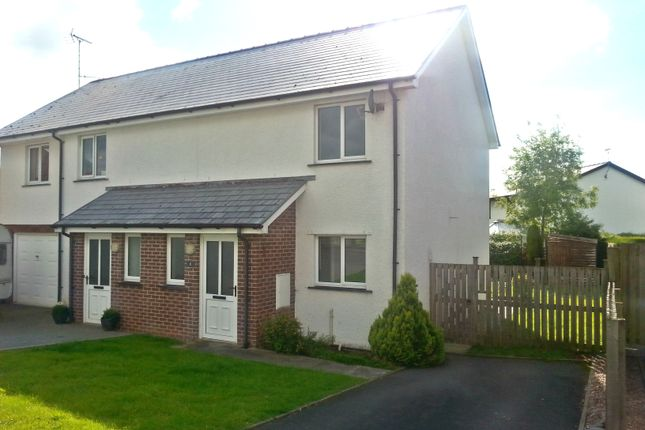 Thumbnail Semi-detached house to rent in Dol Helyg, Penrhyncoch