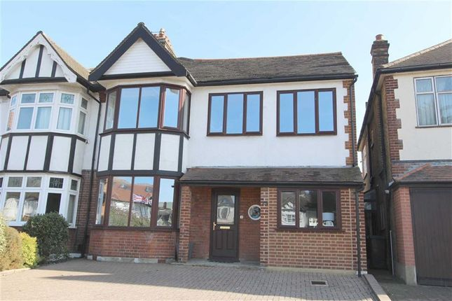 Thumbnail Semi-detached house for sale in The Ridgeway, North Chingford, London