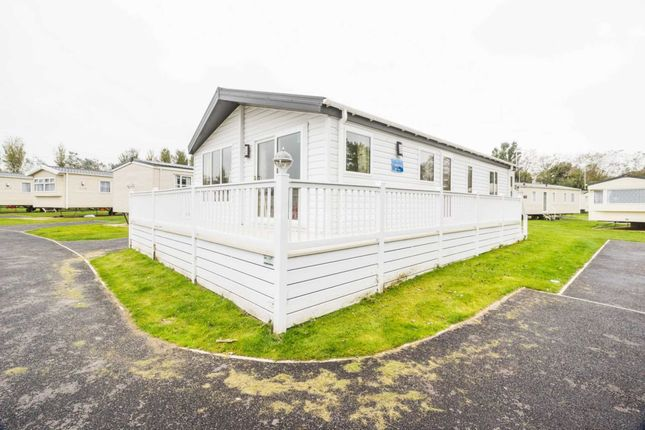Thumbnail Lodge for sale in Corton, Lowestoft, Suffolk