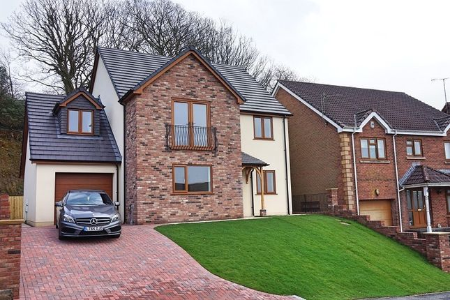 Thumbnail Detached house for sale in The Oaks, Cimla, Neath, West Glamorgan.