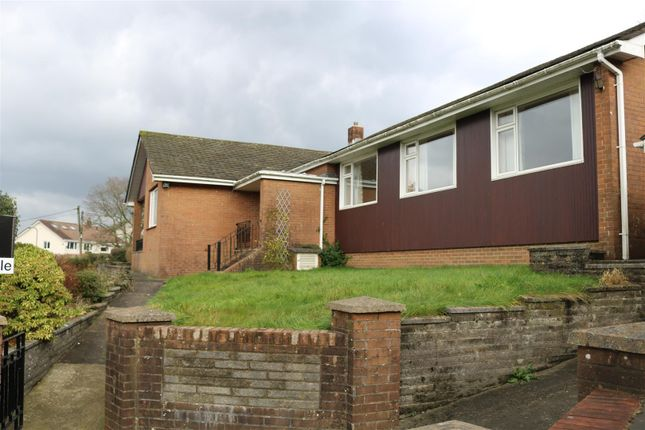 Thumbnail Bungalow for sale in Tonypistyll Road, Newbridge, Newport