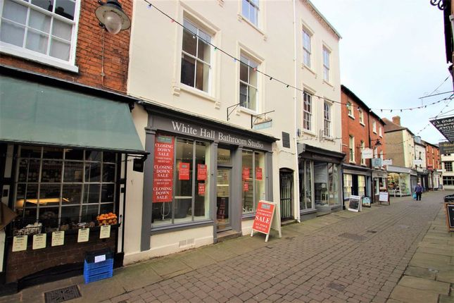 Retail premises to let in Church Street, Hereford, Herefordshire