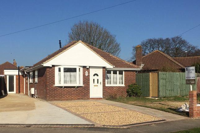 Thumbnail Detached bungalow for sale in Moody Road, Stubbington, Fareham