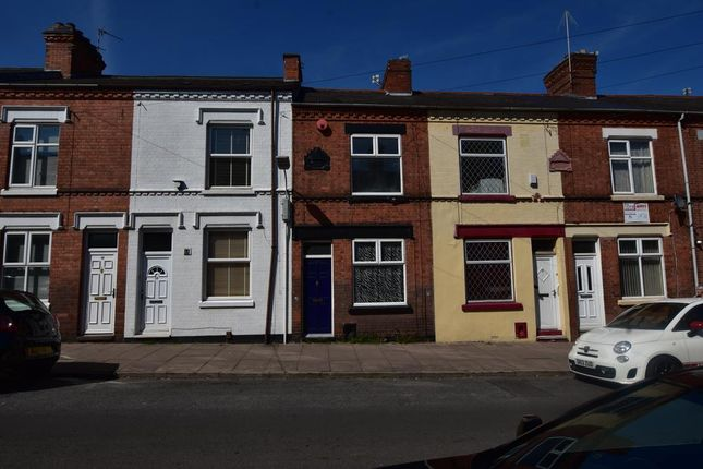 Thumbnail 2 bed terraced house for sale in Pool Road, Leicester, Leicestershire