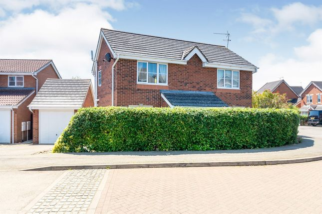 Thumbnail Detached house for sale in Primrose Close, Corby