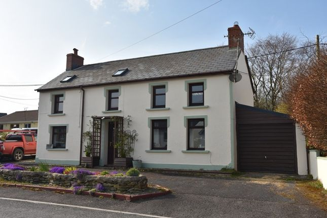 Detached house for sale in Croeslan, Llandysul