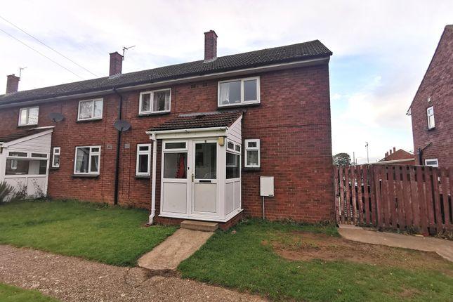 Thumbnail Semi-detached house for sale in Buchanan Road, Hemswell Cliff, Gainsborough