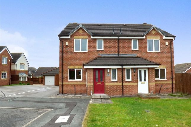 Thumbnail Semi-detached house for sale in Willard Close, Chesterton, Newcastle-Under-Lyme