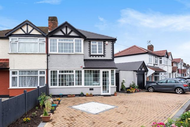 Thumbnail Semi-detached house to rent in Hiliary Gardens, Stanmore