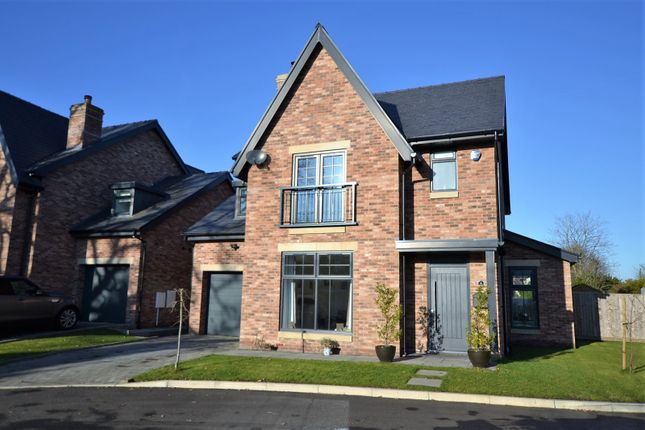 Thumbnail Detached house for sale in Fairway Drive, Goostrey, Crewe