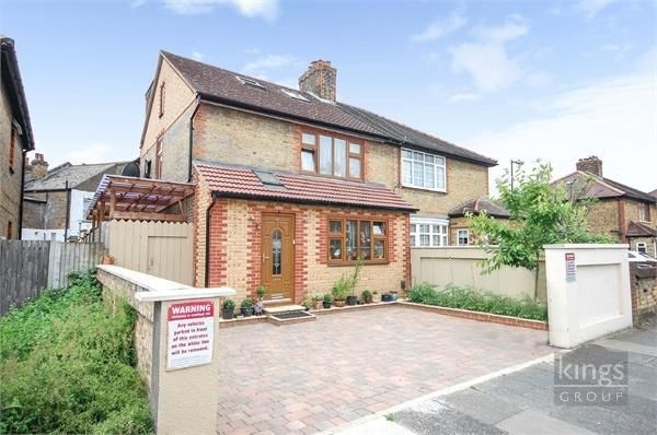 Thumbnail Semi-detached house for sale in Brookfield Road, Edmonton