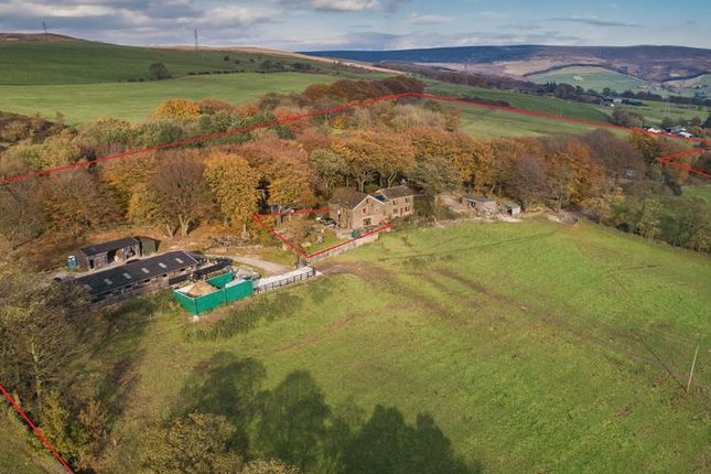Thumbnail Country house for sale in Dewsnap Lane, Mottram, Hyde