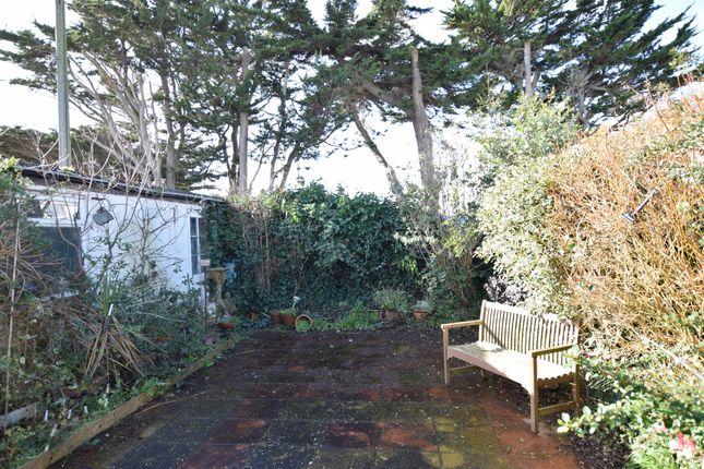 Rear Garden  of Seaville Drive, Pevensey Bay BN24