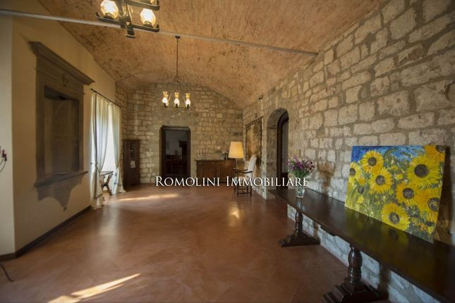 Castle For Sale Italy, Chianti Classico DOCG Tuscany Area, Vineyards Near Florence And Siena
