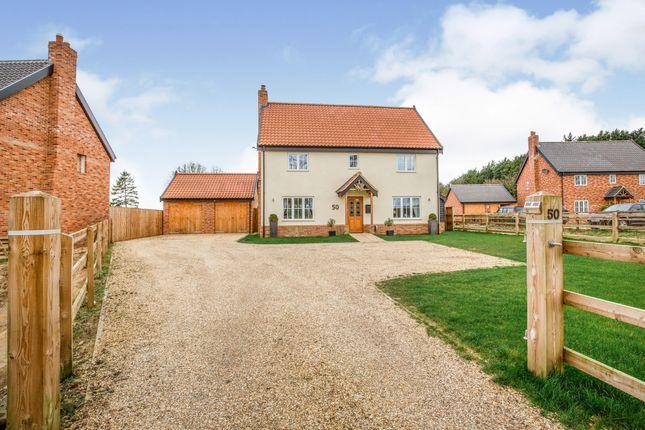 Thumbnail Detached house for sale in Great Ellingham, Attleborough, Norfolk