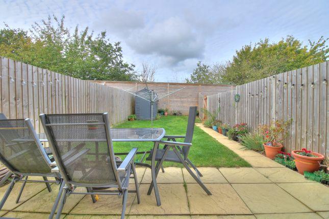 Garden of Montagu Drive, Saxmundham IP17