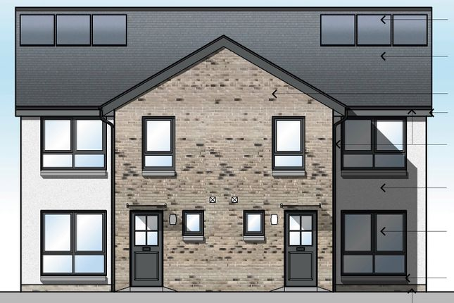 Thumbnail Semi-detached house for sale in Plot 7 'the Glendhu' Carrochan Road, Balloch