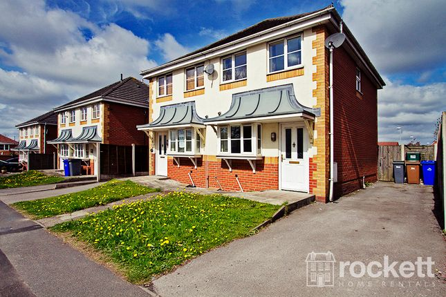 Thumbnail Semi-detached house to rent in Wood Street, Longton, Stoke-On-Trent