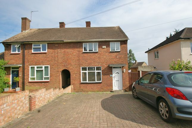 Thumbnail 3 bedroom semi-detached house to rent in Longtown Road, Romford