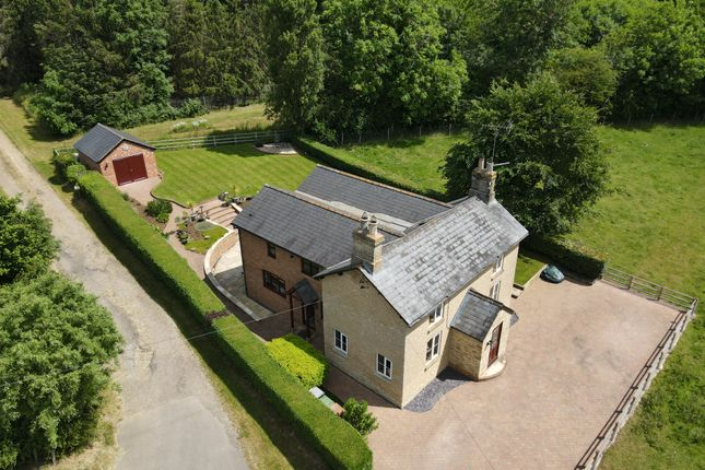 Thumbnail Detached house for sale in 24 York Road, Wollaston, Northamptonshire