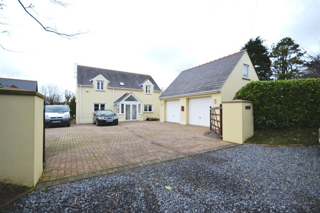 Thumbnail Detached house for sale in Steynton, Milford Haven, Pembrokeshire