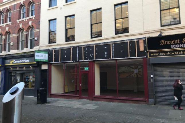 Thumbnail Retail premises to let in 13-15 New Market Street, Blackburn