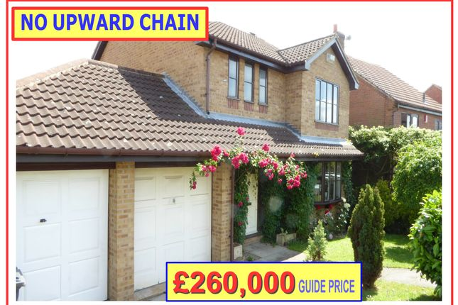 Thumbnail Detached house for sale in 28 Silverburn Drive, Derby
