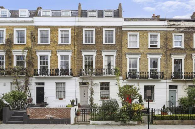 Thumbnail Terraced house for sale in Albert Street, Camden, London