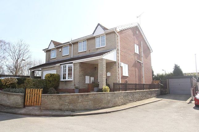 Thumbnail Semi-detached house for sale in Hill Top Close, Fitzwilliam, Pontefract, West Yorkshire