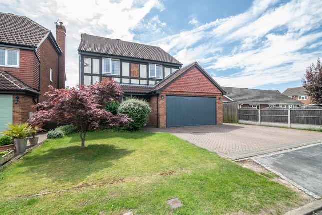 Thumbnail Detached house for sale in Monkspath, Sutton Coldfield
