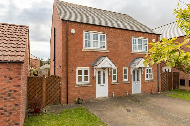 Thumbnail Semi-detached house to rent in The Granary, Scotter, Gainsborough