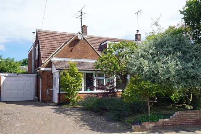 Thumbnail Semi-detached house for sale in Broadmead, Hitchin