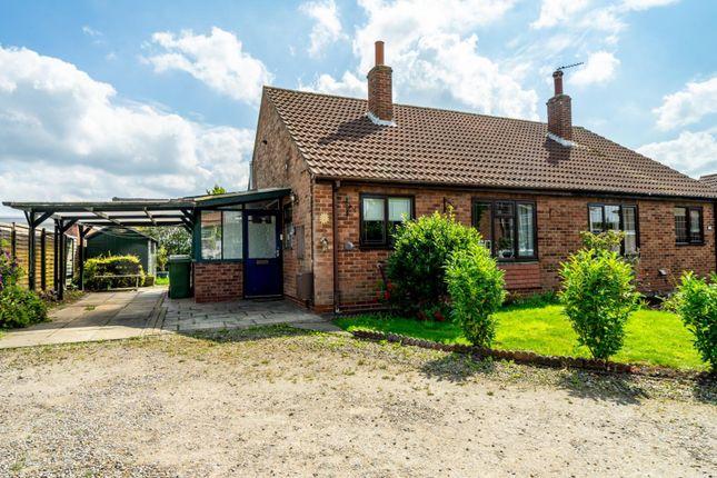 Thumbnail Semi-detached bungalow for sale in Derwent Park Close, Sutton On Derwent, York