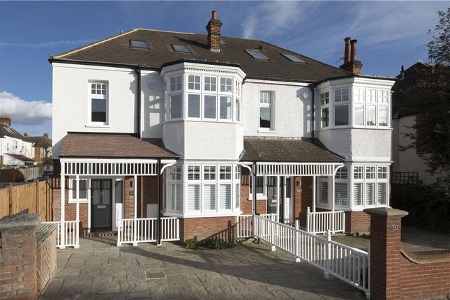 Thumbnail Semi-detached house for sale in Oakwood Road, West Wimbledon