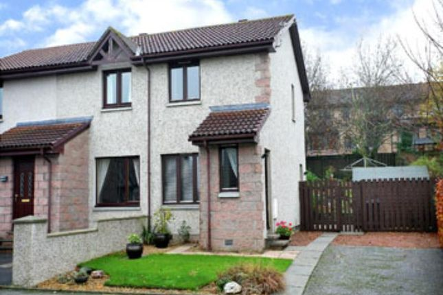Thumbnail Semi-detached house to rent in Davidson Place, Inverurie