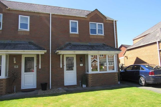 Thumbnail Semi-detached house to rent in Rodneys View, Four Crosses, Llanymynech