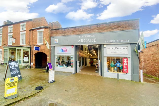 Property to rent in Yates Yard, High Street, Eccleshall, Stafford ST21