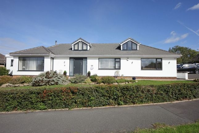 Thumbnail Detached bungalow for sale in Gulls Way, Heswall, Wirral