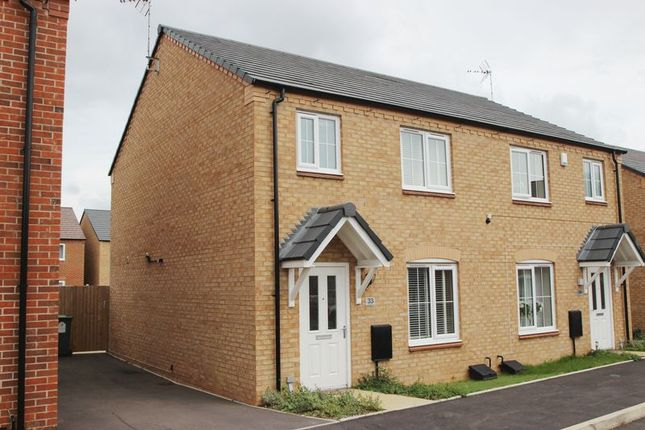Thumbnail Semi-detached house for sale in Russet Way, Bidford-On-Avon, Alcester