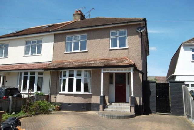 Thumbnail Semi-detached house to rent in Wingletye Lane, Hornchurch