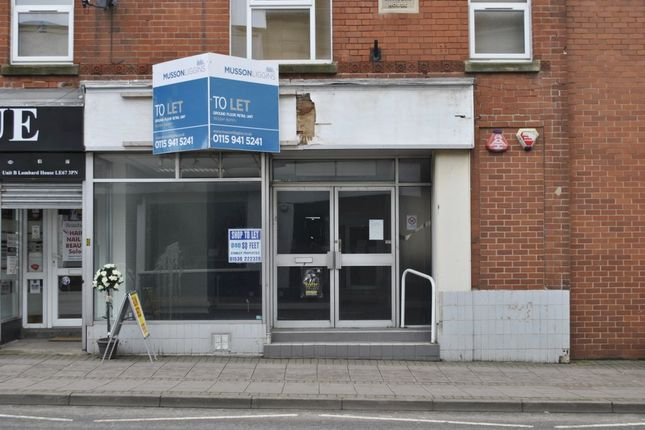 Thumbnail Retail premises to let in Belvoir Road, Coalville